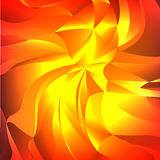 Vector abstract background. Glossy swirl triangles. Vector colorful geometrical  illustration Royalty Free Stock Photo