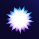 Vector Abstract Background With Glowing Flower. This is file of EPS10 format Stock Photo