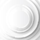 Vector abstract background. Gray Circles Royalty Free Stock Photography