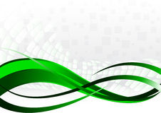 Vector abstract background in green. Color; clip-art Royalty Free Stock Photos