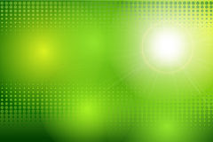 Vector abstract background green Stock Images