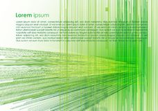 Vector abstract background with green texture and lines. EPS10 Royalty Free Stock Image