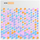 Vector abstract background Hexagon. Web and Design Stock Photo