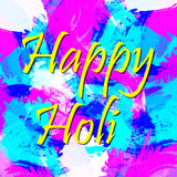 Vector abstract background Holi spring festival Royalty Free Stock Photography