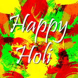 Vector abstract background Holi spring festival Royalty Free Stock Photo