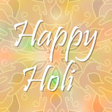 Vector abstract background Holi spring festival Stock Images