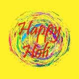 Vector abstract background Holi spring festival Stock Photos