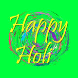 Vector abstract background Holi spring festival Stock Image