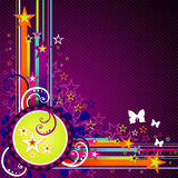 Vector abstract background illustration Royalty Free Stock Images