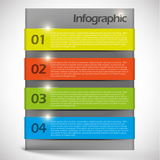 Vector abstract  background infographic template Royalty Free Stock Images