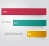 Vector abstract background. Label color Stock Image