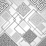 Vector - abstract background with labyrinths. The abstract background with labyrinths Royalty Free Stock Image