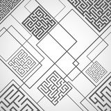 Vector - abstract background with labyrinths. The abstract background with labyrinths Royalty Free Stock Photos