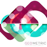 Vector abstract background. With light effects Stock Photography