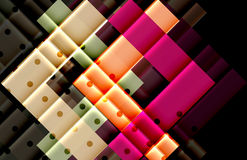 Vector abstract background. Modern arrow shapes Stock Photography