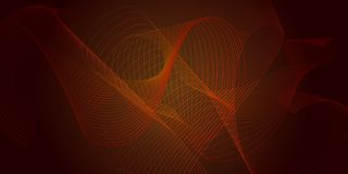 Vector abstract background with orange-brown transition Royalty Free Stock Photography