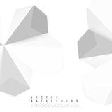 Vector abstract background. Origami and paper geometric Stock Photo