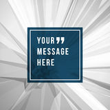 Vector abstract background and place for Quote Royalty Free Stock Photos
