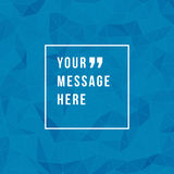 Vector abstract background and place for Quote Stock Photos