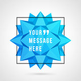 Vector abstract background and place for Quote Stock Images
