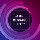 Vector abstract background and place for Quote Royalty Free Stock Image