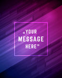 Vector abstract background and place for Quote Stock Image