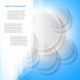 Vector abstract background. Polygon blue and card Stock Photography