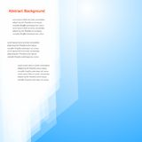 Vector abstract background. Polygon blue and card Royalty Free Stock Photography