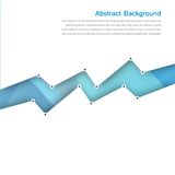 Vector abstract background. Polygon blue and card Royalty Free Stock Photos