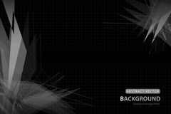 Vector abstract background. Polygon and geometric design Stock Photography