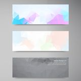 Vector abstract background. Polygonal pattern Royalty Free Stock Photos