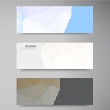 Vector abstract background. Polygonal pattern Royalty Free Stock Image