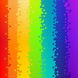 Vector abstract background, rainbow Royalty Free Stock Images