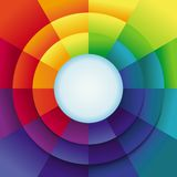 Vector abstract background in rainbow colours Royalty Free Stock Photos