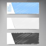 Vector abstract background. scribble and dark Royalty Free Stock Photography