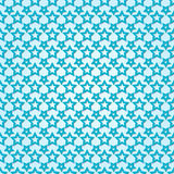 Vector abstract background seamless pattern with stars Royalty Free Stock Photography