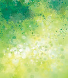 Vector abstract  background. Vector abstract spring  background, splashing effect Stock Photography
