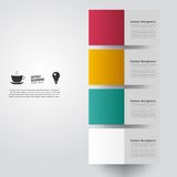 Vector abstract background. Square color. And lines Royalty Free Stock Photos