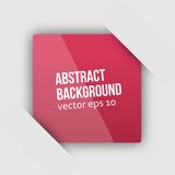 Vector abstract background. Square and 3d Royalty Free Stock Image