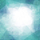 Vector abstract background with squares for business Royalty Free Stock Photos