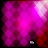 Vector abstract background. Squares red geometric Stock Images