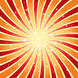 Vector abstract background of star burst. Eps 10 Stock Photography
