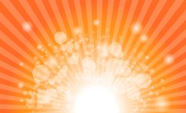 Vector abstract background of star burst rays Stock Image
