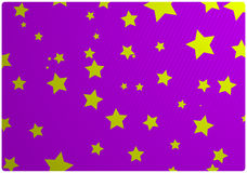 Vector abstract background with stars Stock Photos