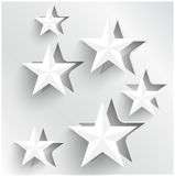 Vector abstract background stars. Web Design Royalty Free Stock Photo