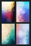 Vector abstract background in style flat Stock Image