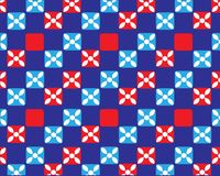 Vector abstract background of symmetrical color squares vector illustration