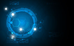 Vector abstract background tech sci fi innovation pattern design. EPS 10 vector Stock Photos