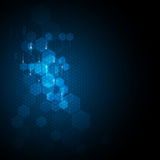 Vector abstract background technology innovation concept sci fi design Royalty Free Stock Image