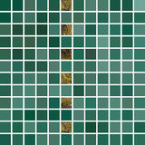 Vector abstract background. Tiled green mosaic. Eps 10. Royalty Free Stock Photo